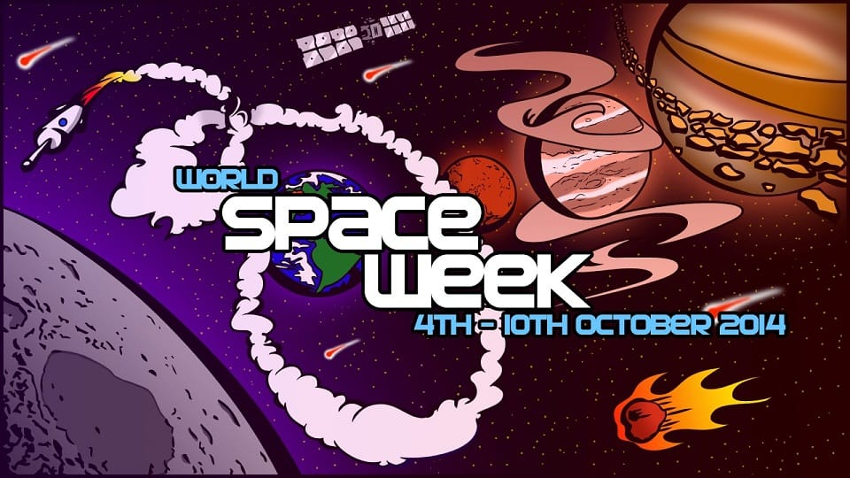 world space week Granada 2014